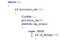 Firmware Writing, Microcontroller Coding